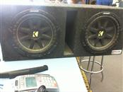 """KICKER Car Speakers/Speaker System CVR TWO 12"""" IN A BOX"""